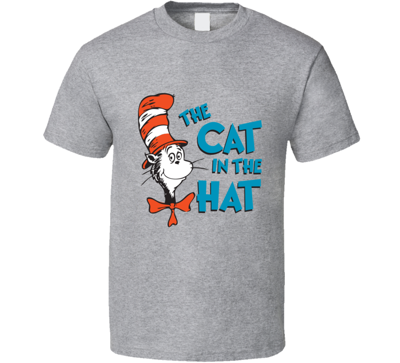 Cat In The Hat Logo Book Seuss T Shirt