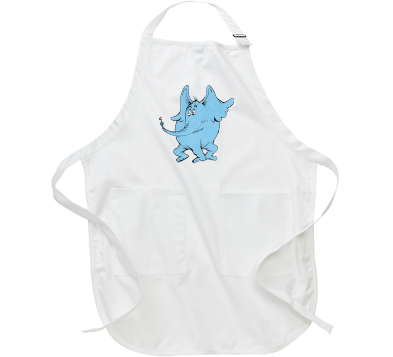 Horton Hears A Who Seuss Book Cartoon Movie Apron