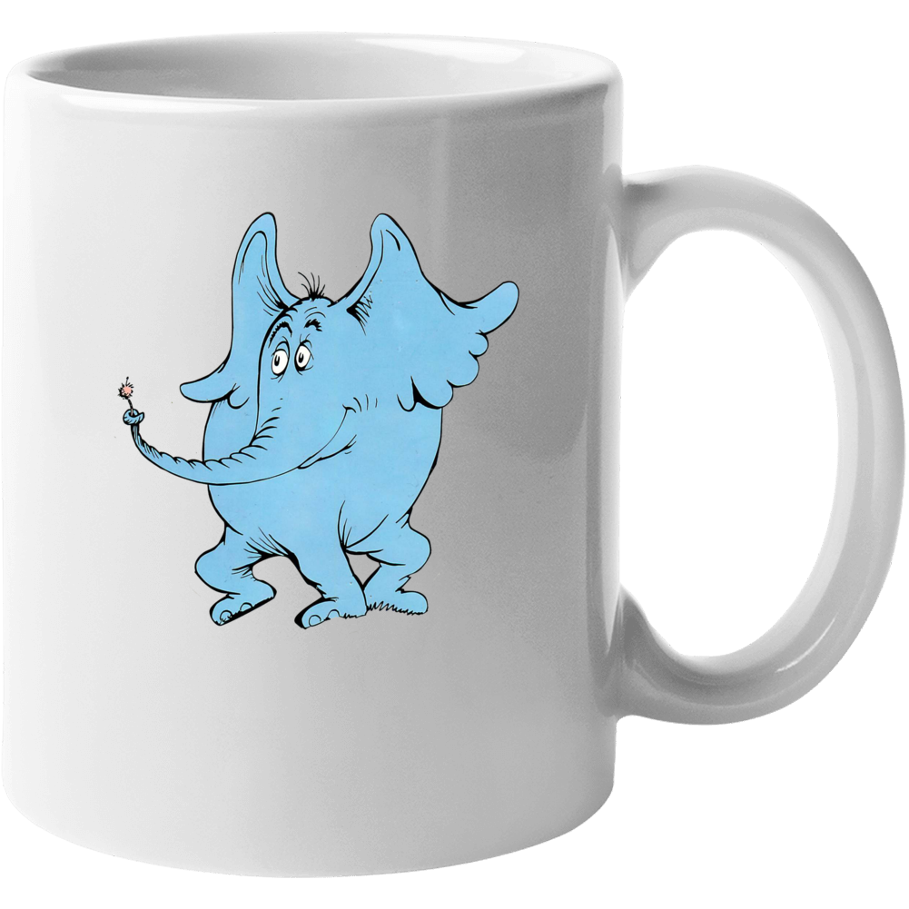 Horton Hears A Who Seuss Book Cartoon Movie Mug