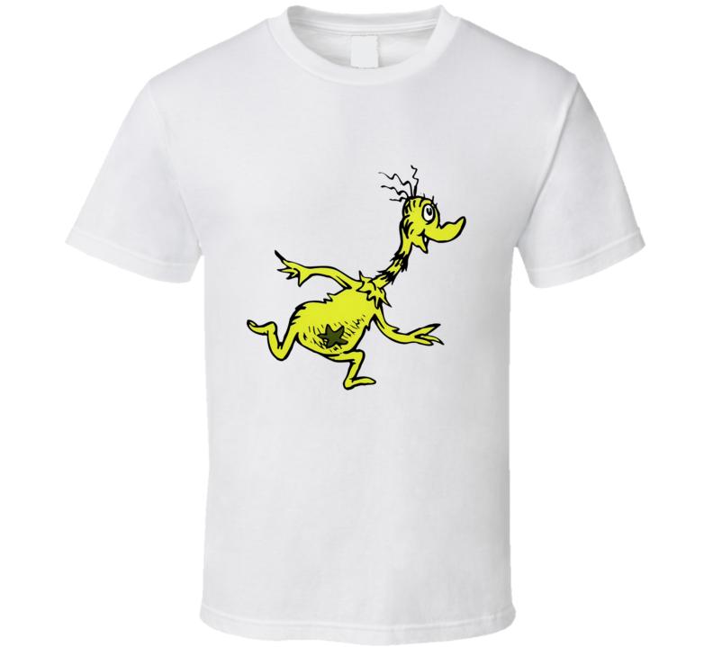 Sneetches Sneetch Seuss Character Book Cartoon T Shirt