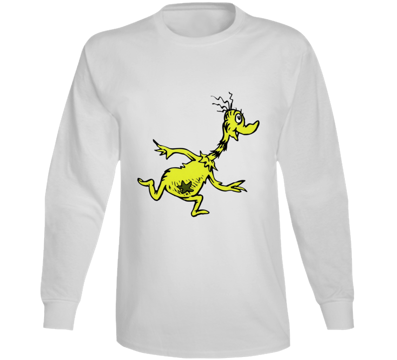 Sneetches Sneetch Seuss Character Book Cartoon Long Sleeve