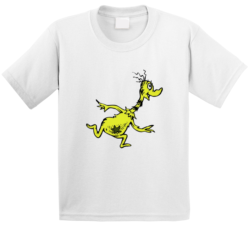 Sneetches Sneetch Seuss Character Book Cartoon T Shirt