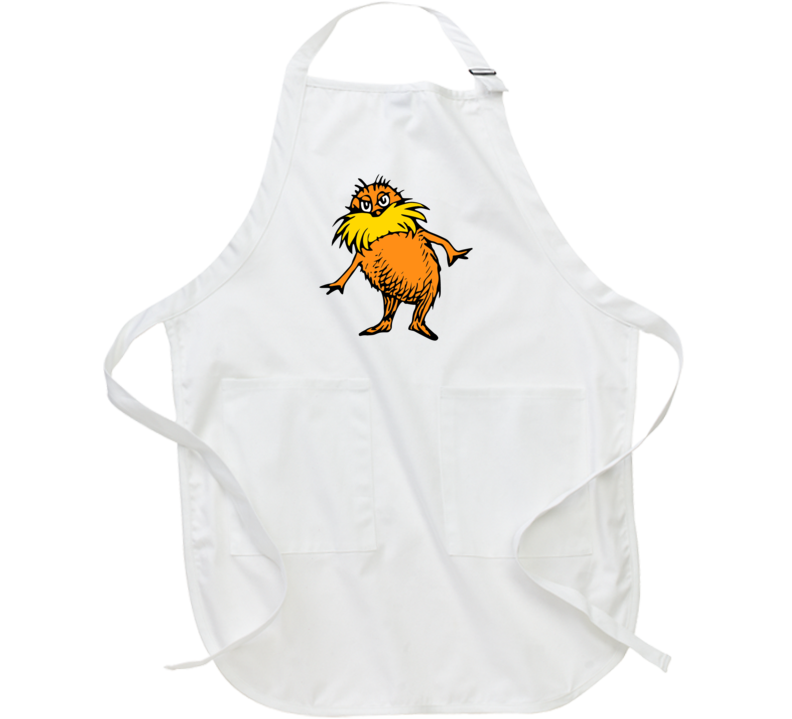 Lorax Seuss Character Book Cartoon Movie Climate Change Apron