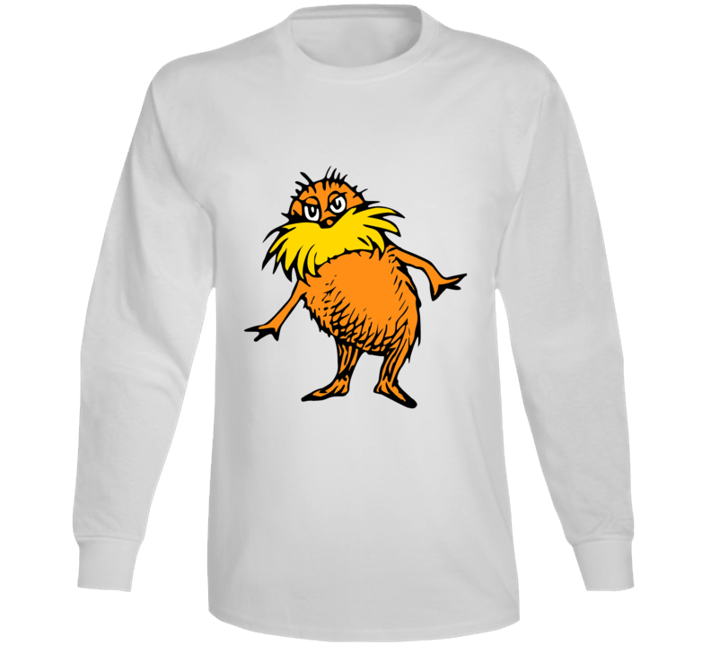 Lorax Seuss Character Book Cartoon Movie Climate Change Long Sleeve