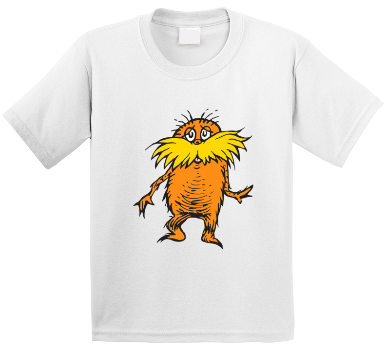 Lorax Climate Change Character Book Cartoon Movie T Shirt
