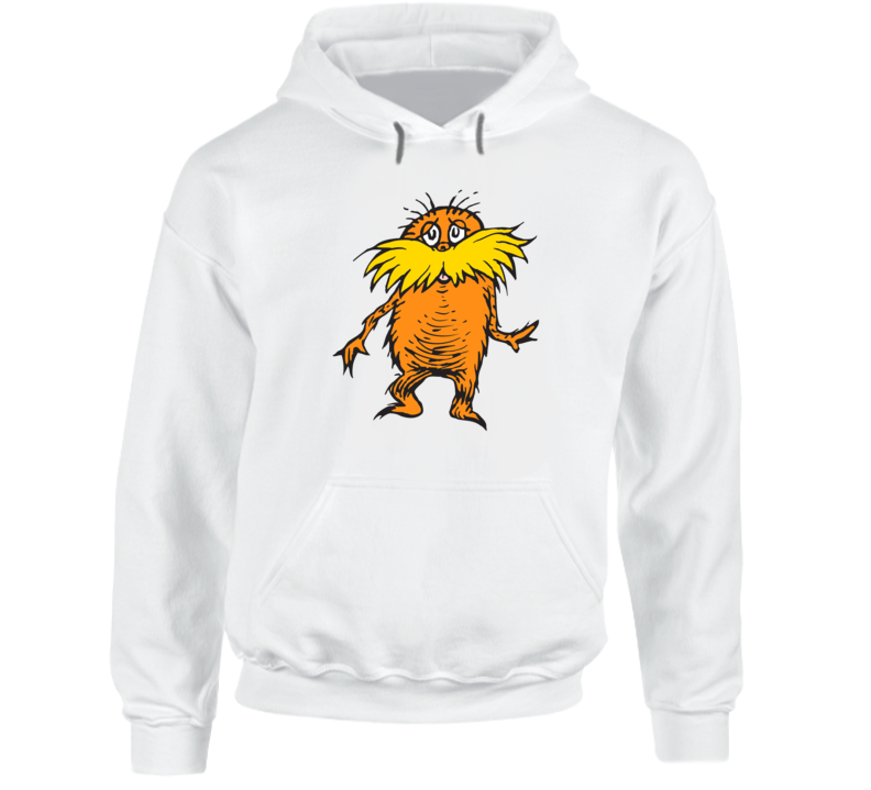 Lorax Climate Change Character Book Cartoon Movie Hoodie