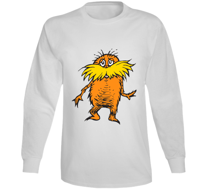 Lorax Climate Change Character Book Cartoon Movie Long Sleeve