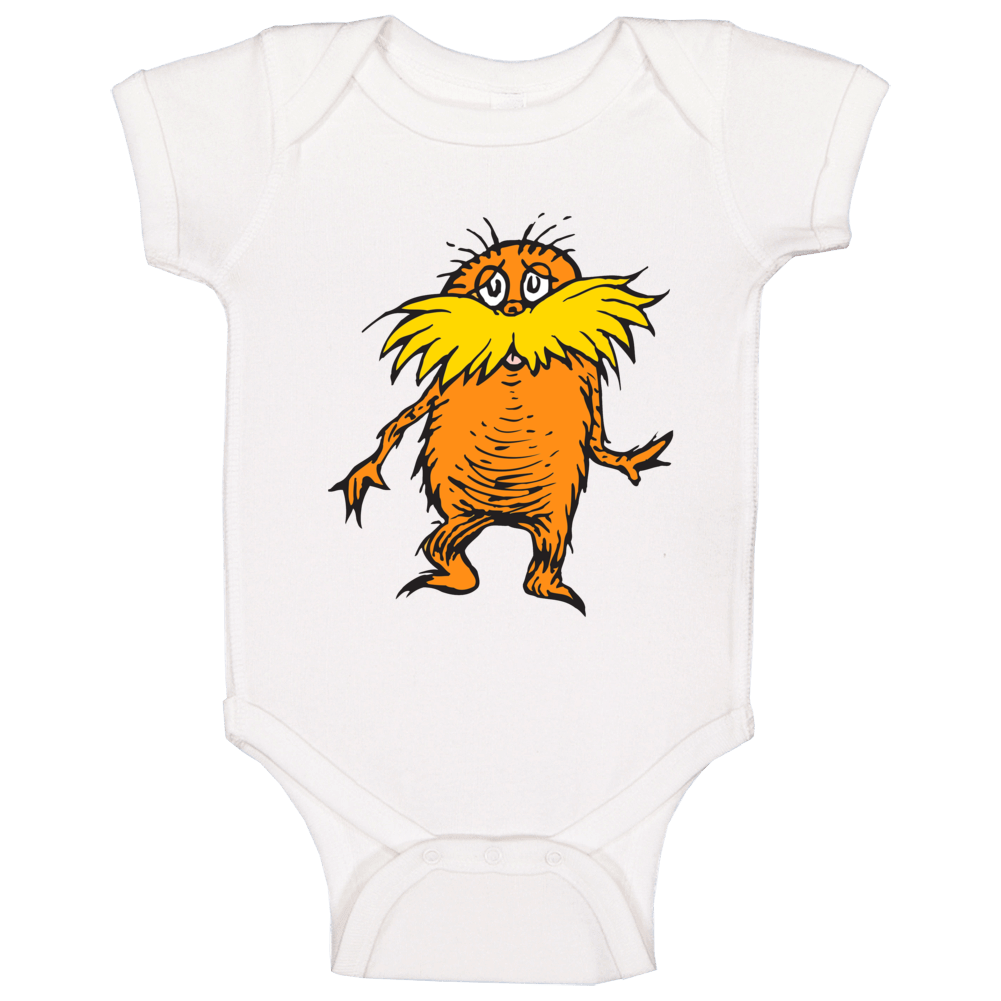 Lorax Climate Change Character Book Cartoon Movie Baby One Piece