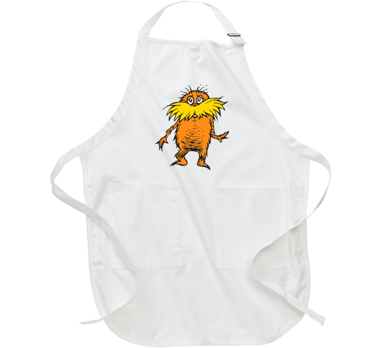 Lorax Climate Change Character Book Cartoon Movie Apron