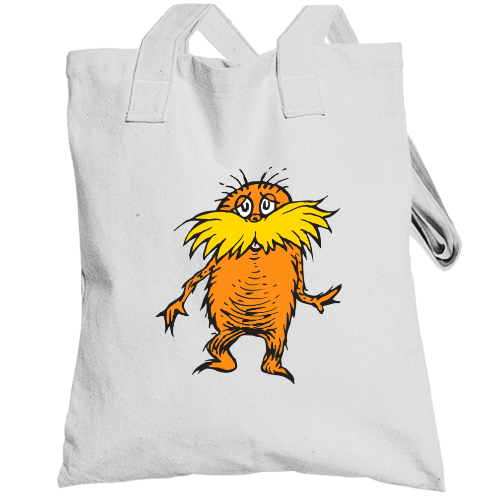 Lorax Climate Change Character Book Cartoon Movie Totebag
