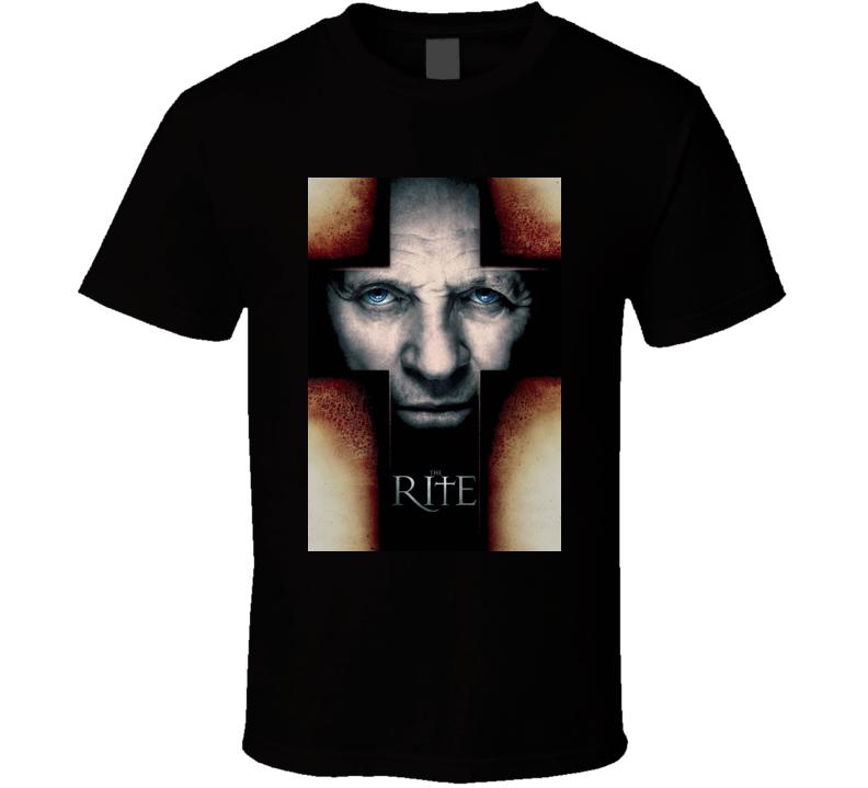 The Rite Horror Movie T Shirt