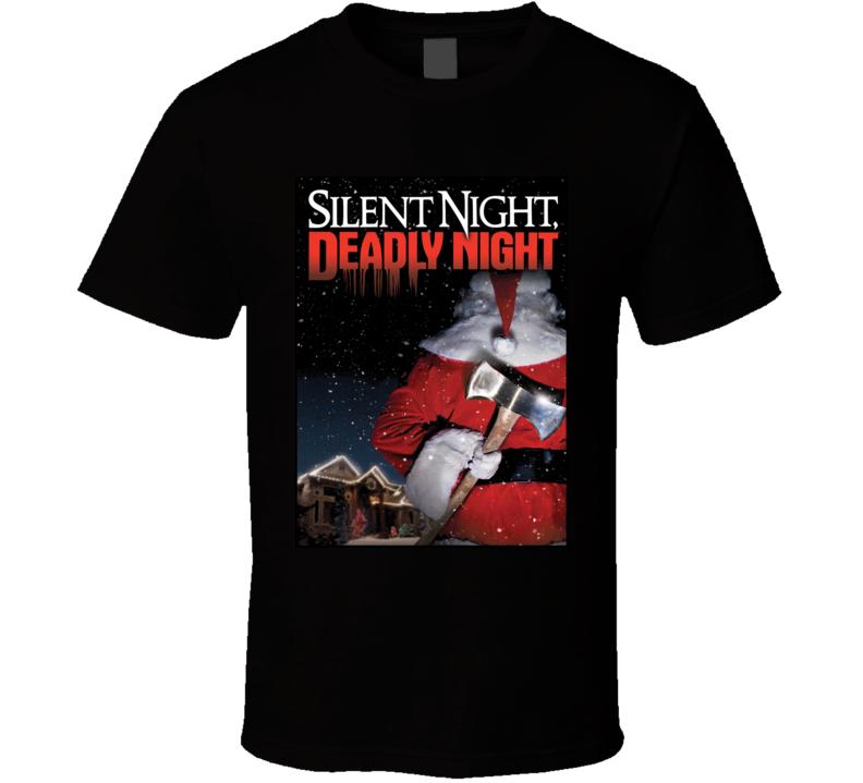 Silent Night Deadly Night Horror Movie T Shirt