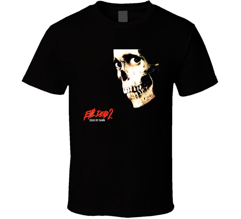 Evil Dead 2 Dead By Dawn Horror Movie T Shirt