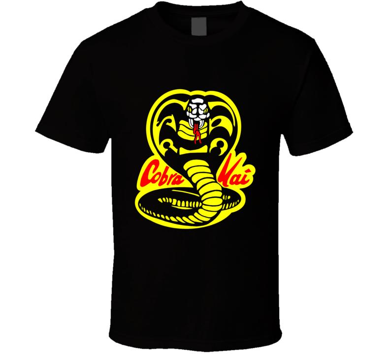 Cobra Kai Karate Kid Tv Show Movie Logo T Shirt