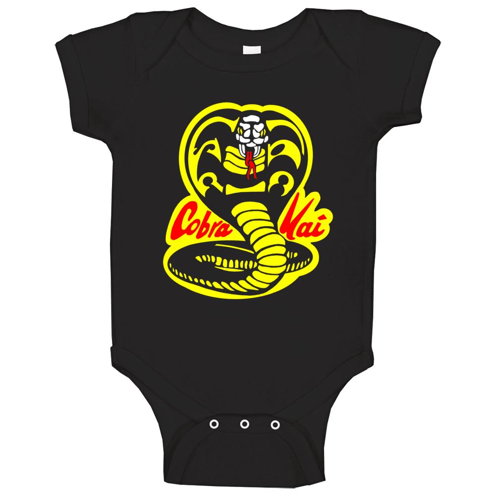 Cobra Kai Karate Kid Tv Show Movie Logo Baby One Piece