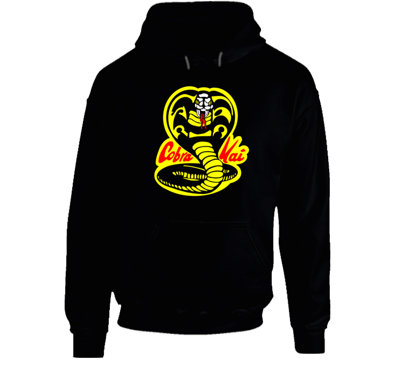 Cobra Kai Karate Kid Tv Show Movie Logo Hoodie
