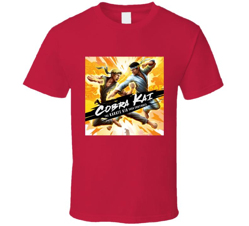 Cobra Kai Tv Show Karate Kid Saga Movie T Shirt