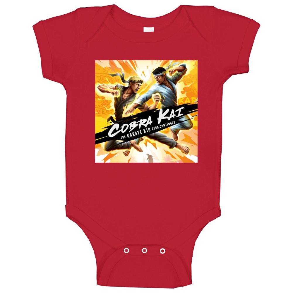 Cobra Kai Tv Show Karate Kid Saga Movie Baby One Piece