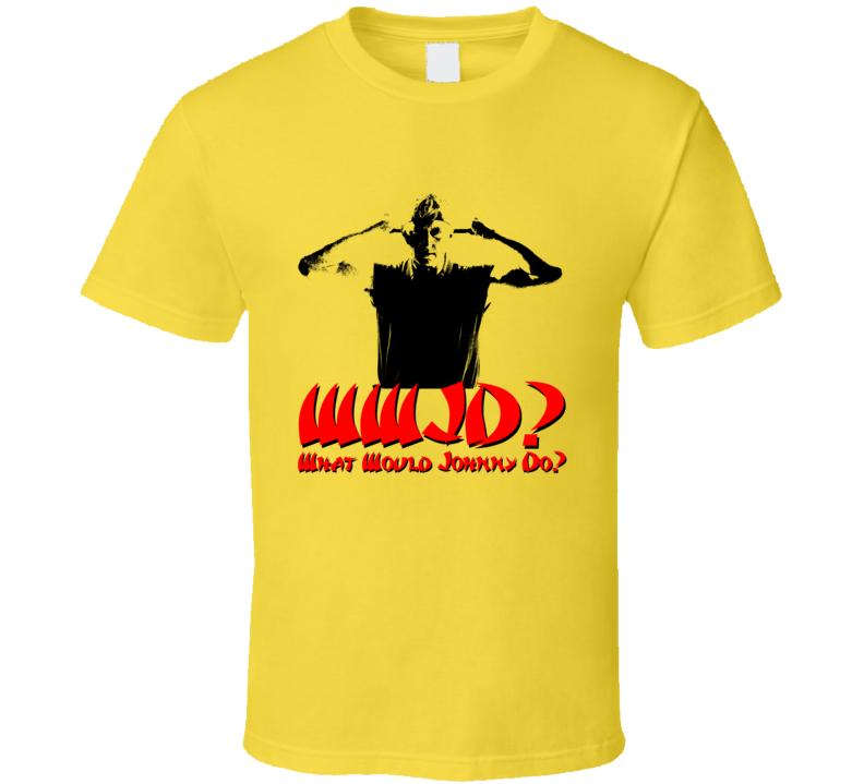 Cobra Kai Wwjd What Would Johnny Do Karate Kid T Shirt