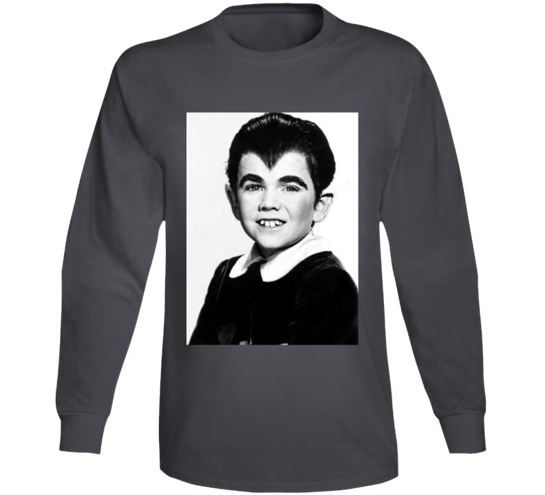 Eddie Munster Photo Munsters Cult Tv Show Long Sleeve T Shirt