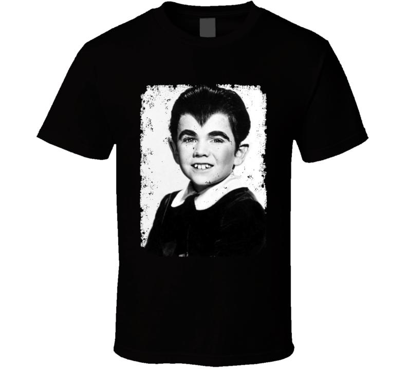 Eddie Munster Distressed Photo Munsters Cult Tv Show T Shirt