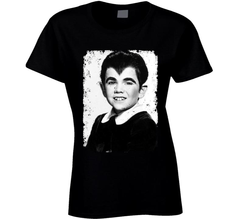 Eddie Munster Distressed Photo Munsters Cult Tv Show Ladies T Shirt