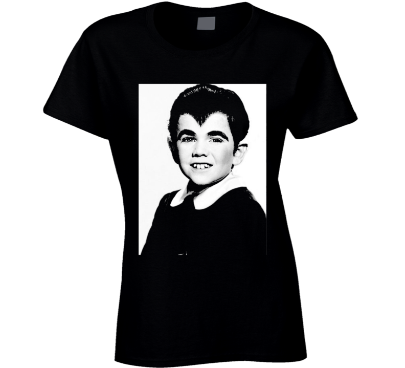 Eddie Munster Art Photo Munsters Cult Tv Show Black Ladies T Shirt