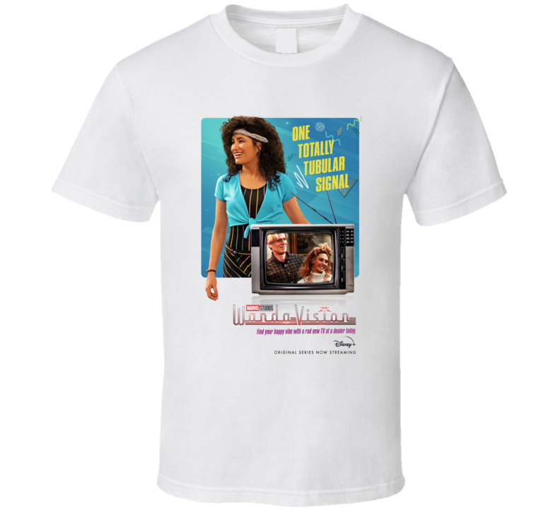 Wandavision Mcu Series Agnes Poster Scarlet Witch Vision T Shirt
