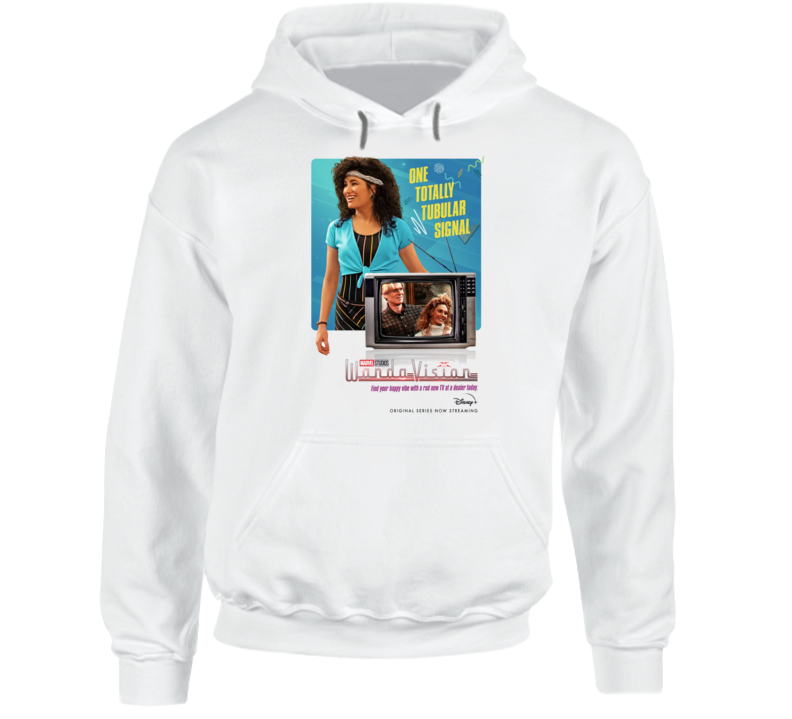 Wandavision Mcu Series Agnes Poster Scarlet Witch Vision Hoodie