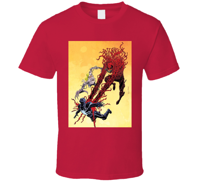 Carnage Agent Venom Spiderman Comics Villain Art T Shirt