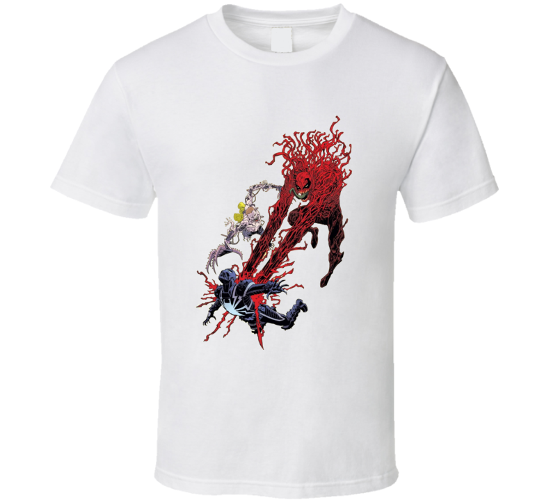 Carnage Agent Venom Comics Villain Art T Shirt