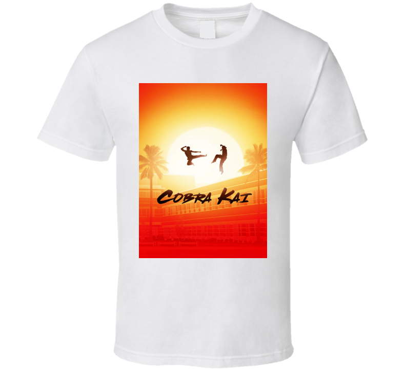 Cobra Kai Netflix Show Karate Kid Cult T Shirt