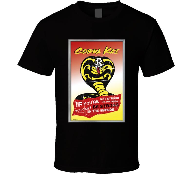 Cobra Kai Netflix Show Karate Kid Cult Dojo T Shirt