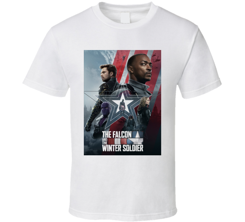 The Falcon And The Winter Soldier Marvel Show Mcu T Shirt