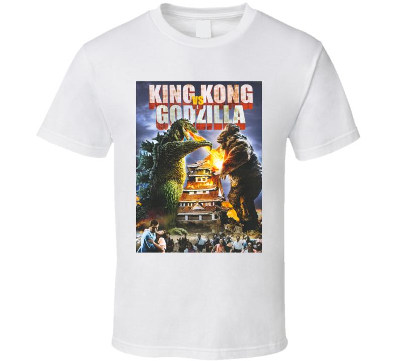 King Kong Vs Godzilla Cult Movie Classic T Shirt