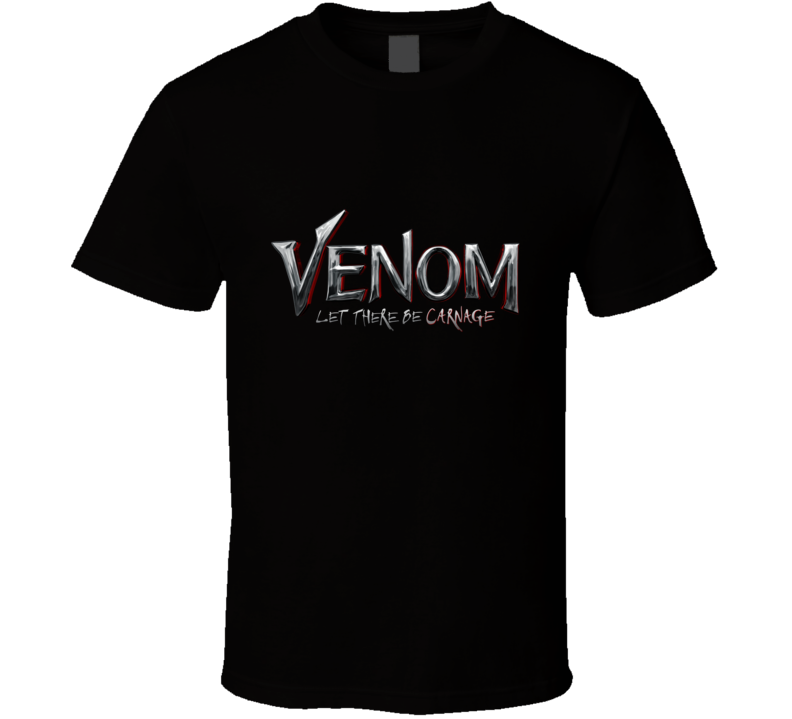 Venom Let There Be Carnage Movie Logo T Shirt