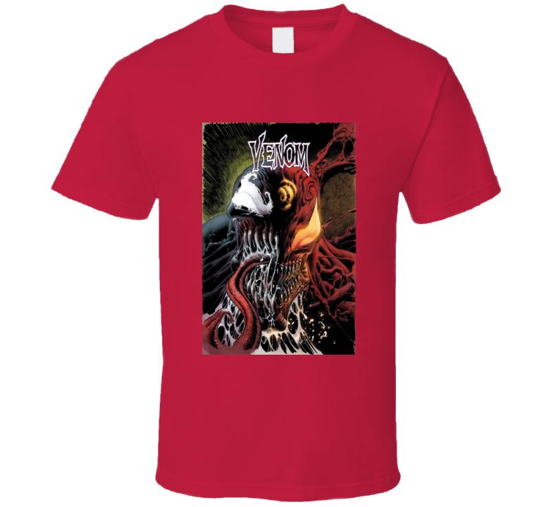 Venom Carnage Comic Book Cover Art Spiderman T Shirt