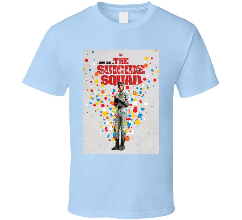 The Suicide Squad Captain Polka Dot Man Poster Gunn Movie T Shirt