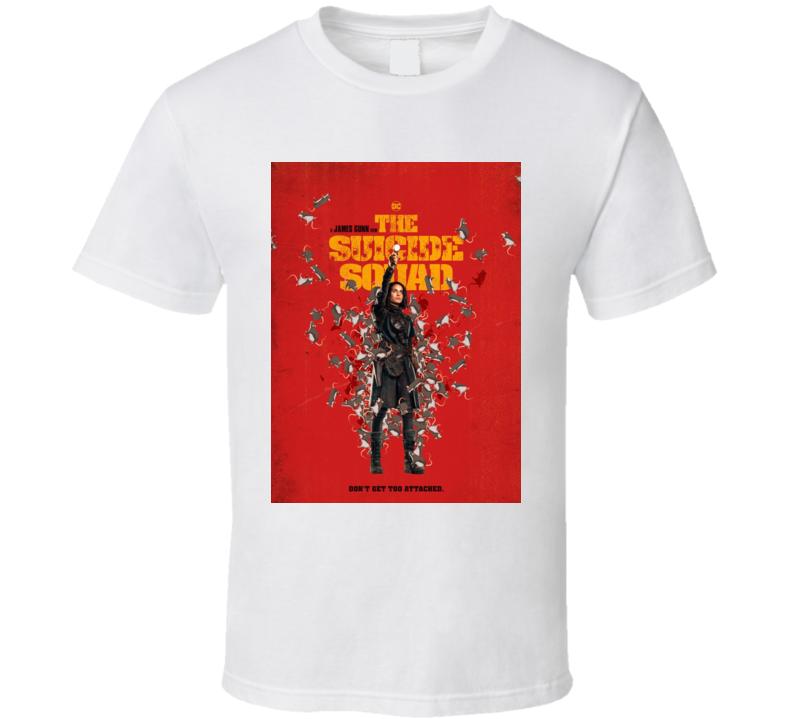 The Suicide Squad Captain Ratcatcher 2 Poster Gunn Movie T Shirt