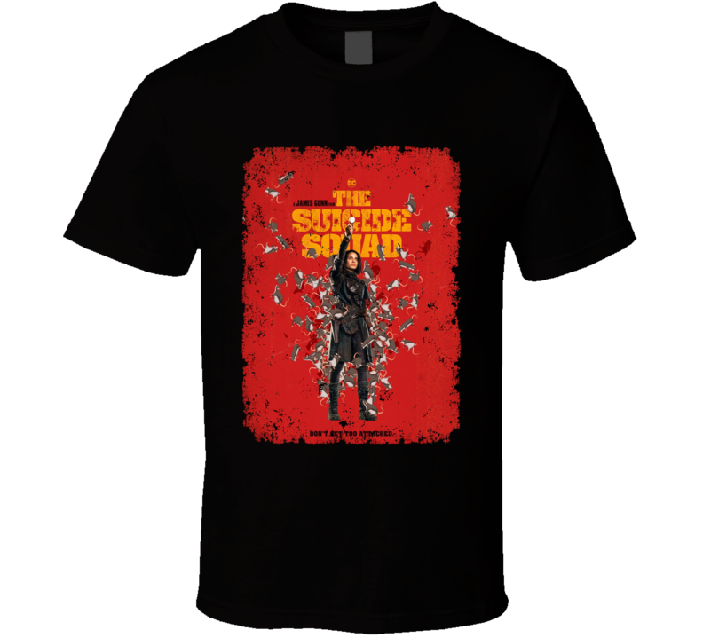 The Suicide Squad Captain Ratcatcher 2 Poster Gunn Movie Aged T Shirt