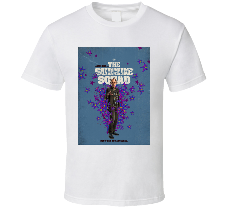 The Suicide Squad Thinker Poster Gunn Movie T Shirt