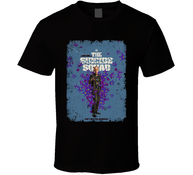 The Suicide Squad Thinker Poster Gunn Movie Aged T Shirt
