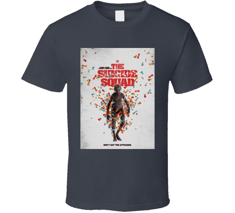 The Suicide Squad Weasel Poster Gunn Movie T Shirt