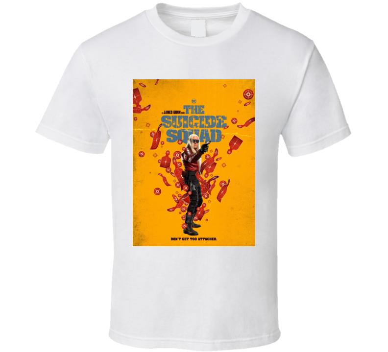 The Suicide Squad Savant Poster Gunn Movie T Shirt
