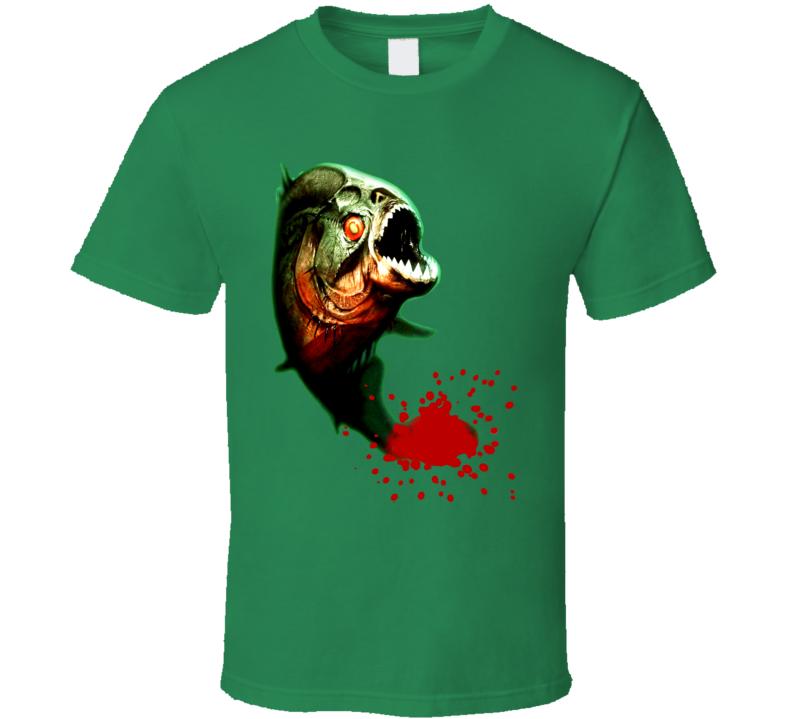 Piranha Horror Movie T Shirt