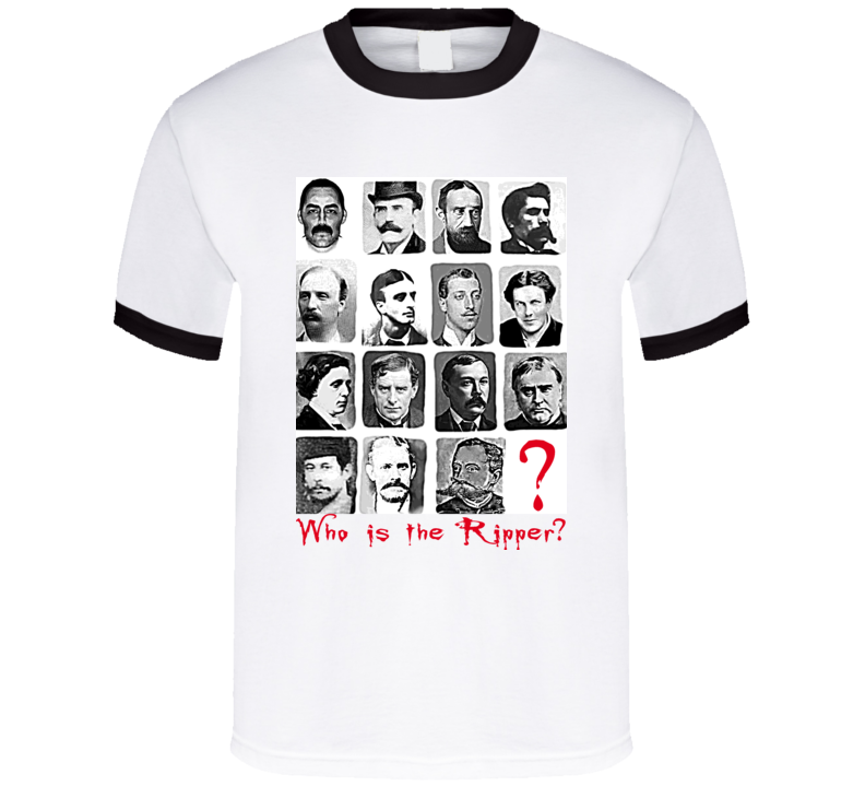 Jack The Ripper Suspects T Shirt