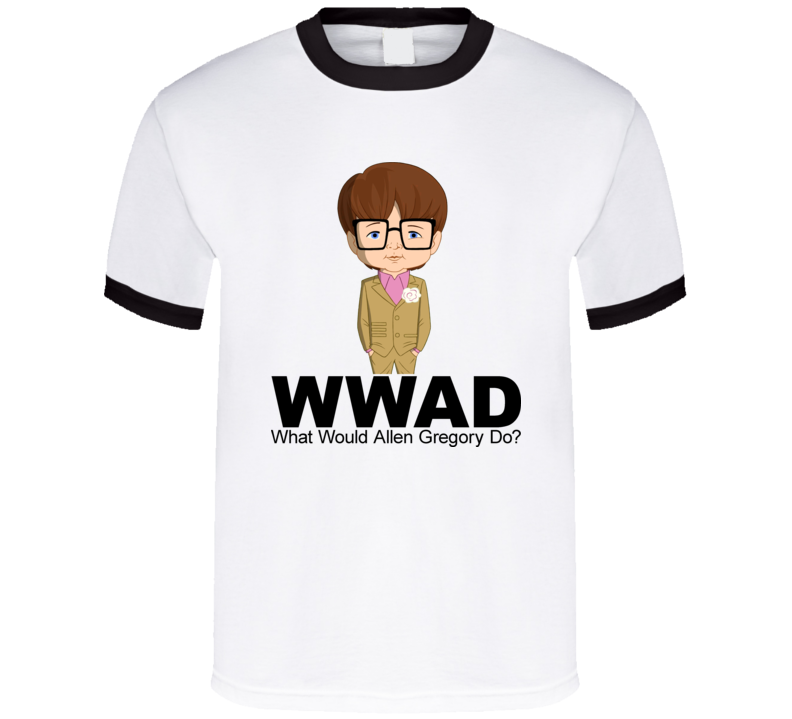 WWAGD What Would Allen Gregory Do Animated Tv Show T Shirt