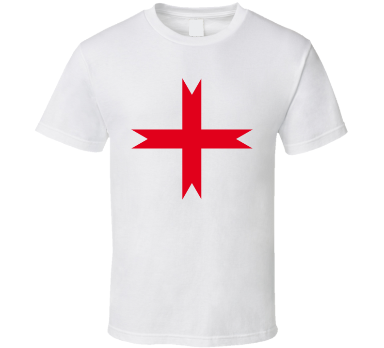 Knights Templar Cross Ancient Symbol T Shirt