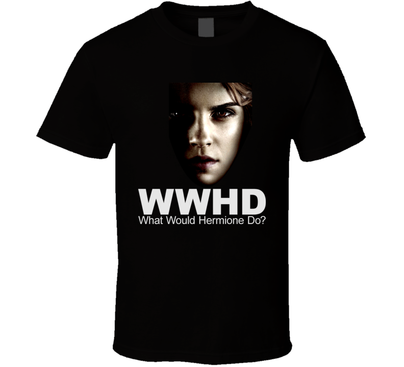 WWHD What Would Hermione Do Harry Potter Movie Book T Shirt