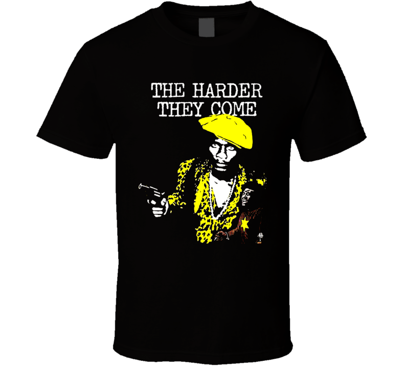 Harder They Come Movie T Shirt